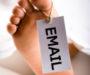Email er død…